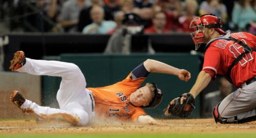 Astros Crushed By Trout And Angels