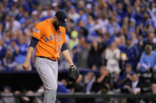 Astros Fall In Game 5 To Royals 7-2
