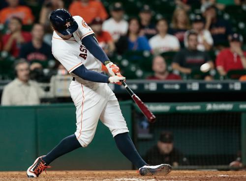 Astros Overcome Blown Lead On Springer's Walk-Off Homer in 5-4 Win