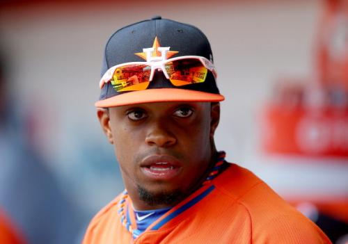 Astros Prospect DeLino DeShields Face Is Terrifying After HBP