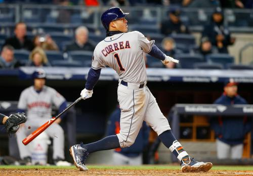 Astros Rocked In New York In 16-6 Loss