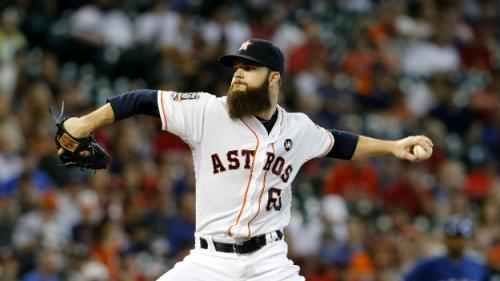 Astros Sign Four Players To Avoid Abitration; Including Dallas Keuchel