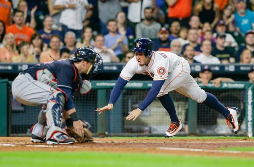 Big Third Inning Lifts Astros Over Indians