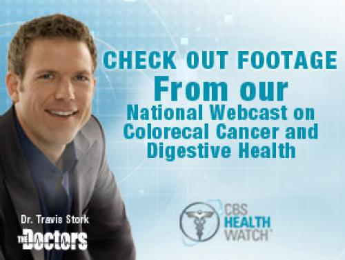 Check Out The CBS HealthWatch Colorectal Webcast