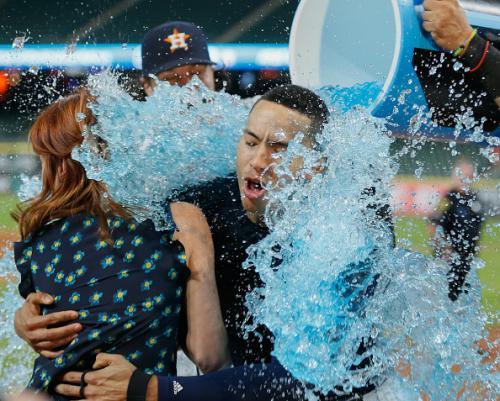 Correa's Walk-Off Ends Astros Skid