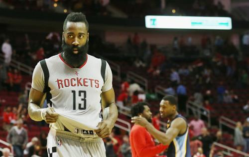 Despite Harden's 40 Points, Rockets Fall To Memphis