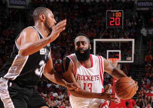 Duncan Block On Harden Seals 104-103 Win For Spurs