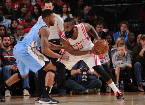 Harden Gets Buzzer-Beating Triple Double