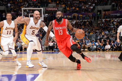 Harden Goes Off In Big Win Over Lakers