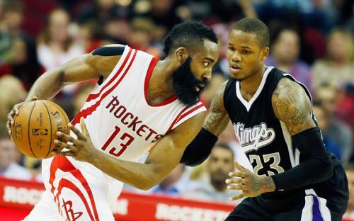 Harden Goes Off; Rockets Dethrone Kings 115-111