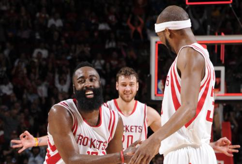 Harden, Rockets Bounce Back Over Pacers