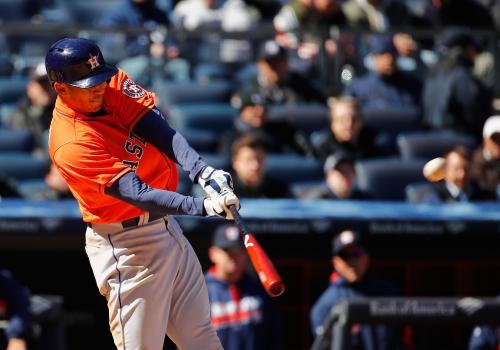 Houston Astros Win Opening Game 5-3 Over Yankees
