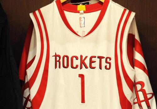 10 Houston Based Companies That Should Buy Rockets Jersey Ad Space