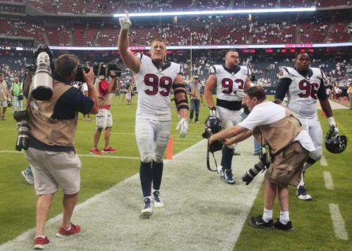 J.J. Watt Reacts To Ray Rice