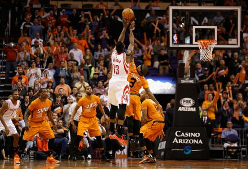 James Harden Hits Game Winning Shot To Lift Rockets Over Suns