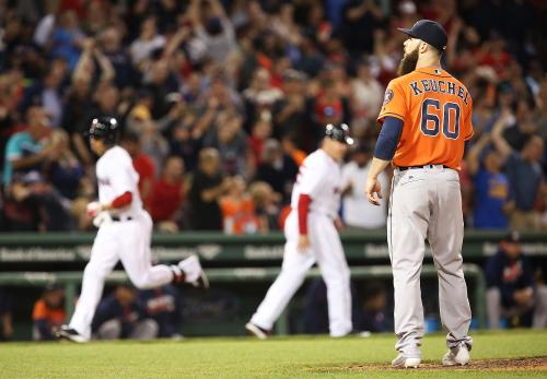 Keuchel Can't Contain Red Sox Bats In 11-1 Loss To Boston