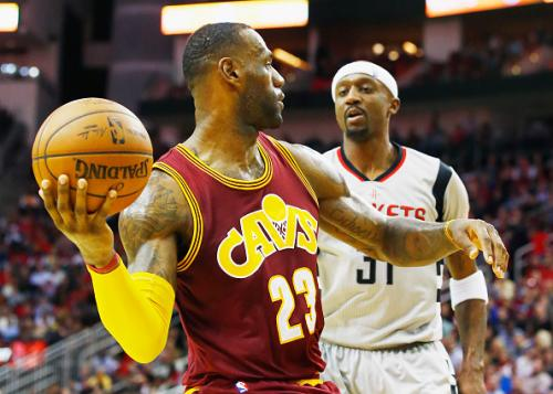 LeBron, Cavs Smother Rockets