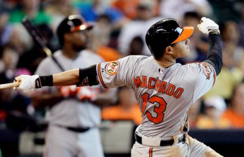 Machado, Orioles Slam Astros In Series Finale